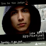 '2012 Law Week Hypothetical' DVD image